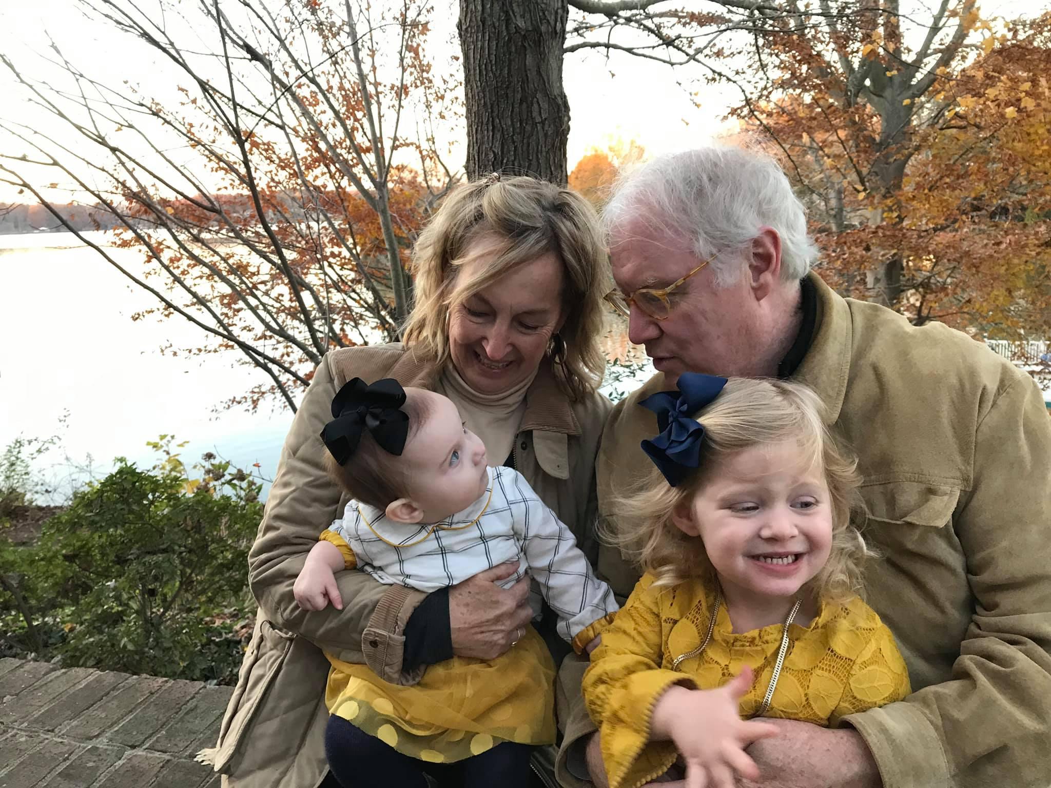 David Parker and grandkids